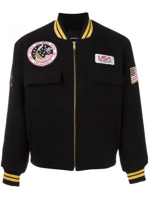 Куртка Space Veteran Joyrich. Цвет: чёрный