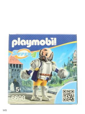 Супер4: Королевский страж Сэра Ульфа Playmobil. Цвет: серый