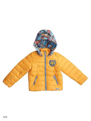 Куртка Stilnyashka. Цвет: желтый