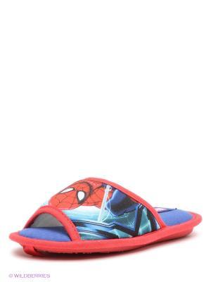 Тапочки De Fonseca. Цвет: синий, красный