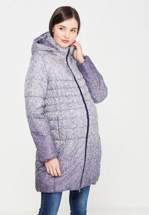 Куртка утепленная MammySize. Цвет: фиолетовый