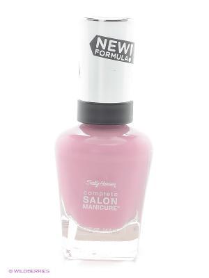 Лак для ногтей Salon Manicure Keratin, тон sgt. preppy #375 SALLY HANSEN. Цвет: розовый