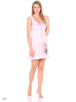 Ночная сорочка Flip. Цвет: розовый