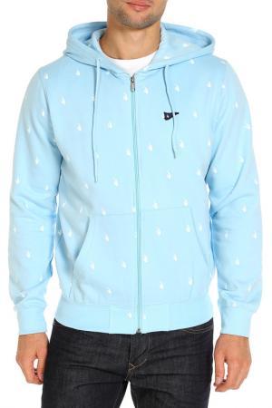 Толстовка Rocawear. Цвет: голубой