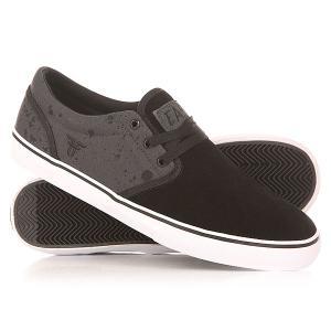 Кеды кроссовки низкие  Easy Black/Iron Splatter Fallen. Цвет: черный,серый