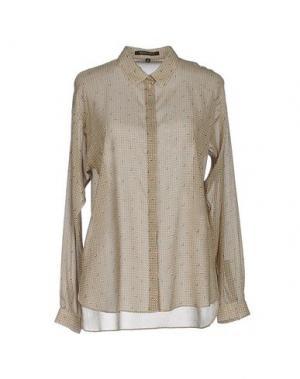Pубашка WALTER VOULAZ. Цвет: песочный