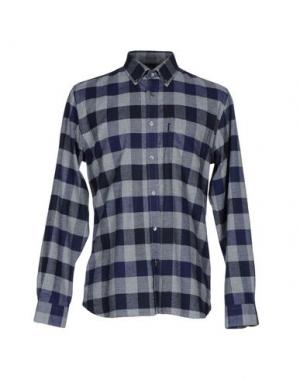 Pубашка AQUASCUTUM. Цвет: серый
