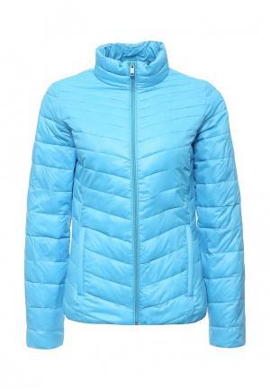 Куртка утепленная Time For Future. Цвет: голубой