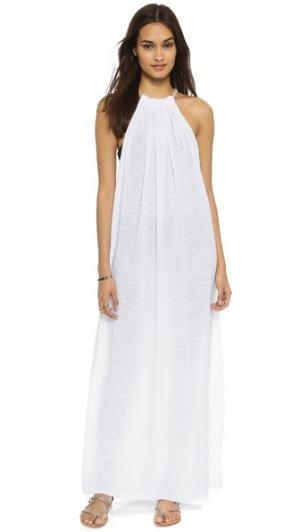 Пляжное платье Aegean Pitusa. Цвет: белый