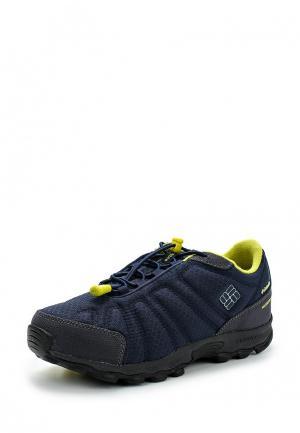 Ботинки трекинговые Columbia. Цвет: синий