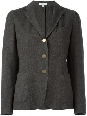 Пиджак с застежкой на три пуговицы Boglioli. Цвет: серый