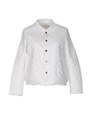Куртка DES PETITS HAUTS. Цвет: белый