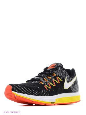 Кроссовки Nike. Цвет: черный, желтый