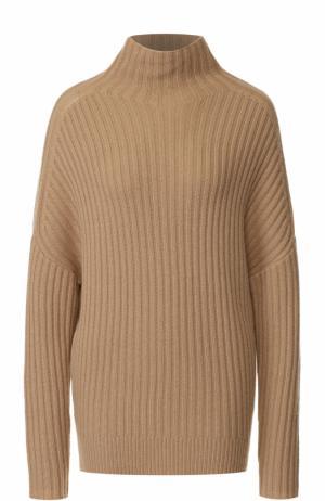Вязаный пуловер из кашемира FTC. Цвет: бежевый