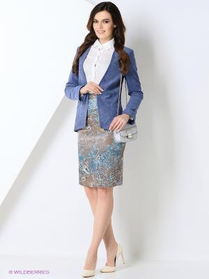 Пиджак Katya Erokhina. Цвет: синий