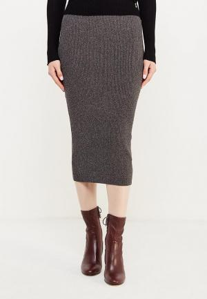Юбка Armani Jeans. Цвет: серый