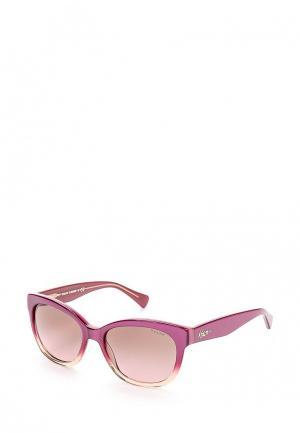 Очки солнцезащитные Ralph Lauren. Цвет: розовый