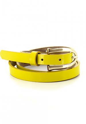 Ремень ALTER EGO. Цвет: желтый