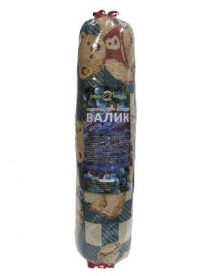 Валик большой можжевелово-лавандовый Травы Кавказа. Цвет: бежевый, синий