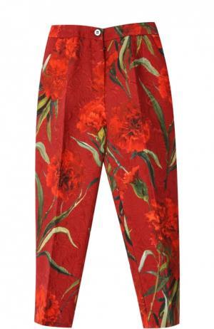 Брюки Dolce & Gabbana. Цвет: красный