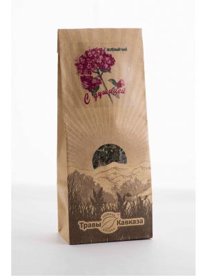 Чай зеленый с душицей Травы Кавказа. Цвет: бежевый