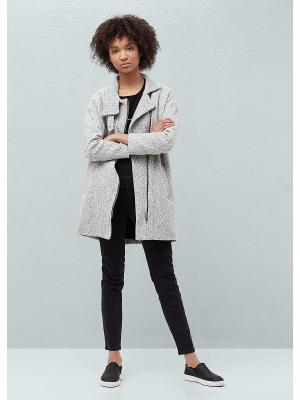 Пальто - CRUZ Mango. Цвет: светло-серый