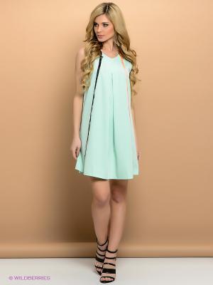 Платье ELENA FEDEL. Цвет: салатовый