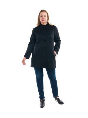 Пальто OLSI. Цвет: черный