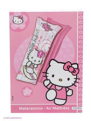 Надувной матрац Хэллоу Китти Mondo. Цвет: бледно-розовый, белый, черный, розовый