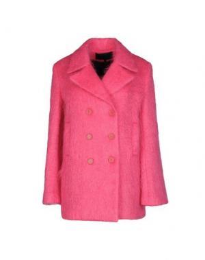 Пальто AMERICAN RETRO. Цвет: фуксия