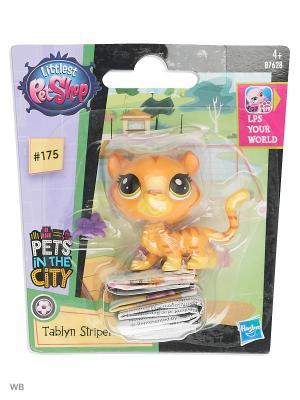 Игрушка Зверюшка Littlest Pet Shop. Цвет: желтый, оранжевый, прозрачный, фиолетовый