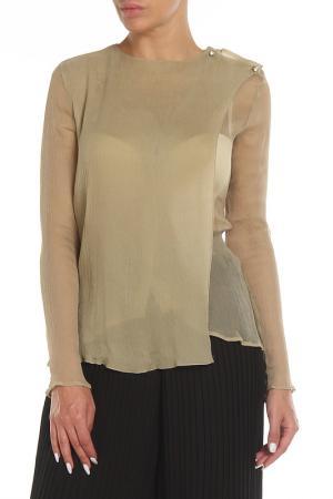 Блуза Costume National. Цвет: 220 бежевый