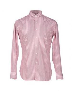 Pубашка ALESSANDRO GHERARDI. Цвет: кирпично-красный