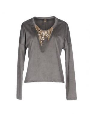 Блузка JIJIL. Цвет: серый