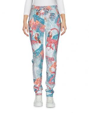 Повседневные брюки PAUL & JOE. Цвет: цвет морской волны