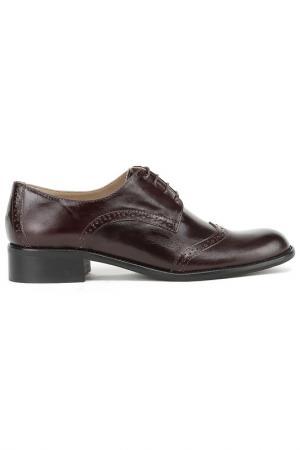 Туфли Gianmarco Benatti. Цвет: темно-коричневый