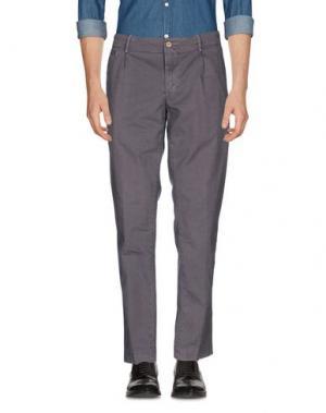 Повседневные брюки PIATTO. Цвет: сиреневый