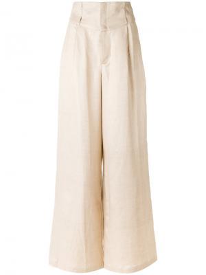 Широкие брюки Tufi Duek. Цвет: none