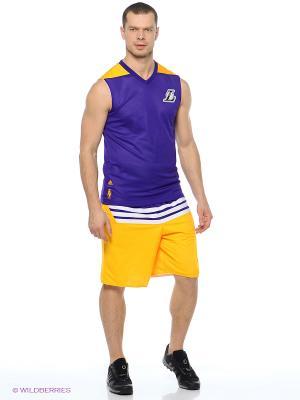 Майка Smr Rn Rev Sl Adidas. Цвет: фиолетовый, желтый