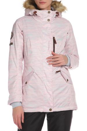 Сноубордическая куртка с капюшоном Stayer. Цвет: бежевый