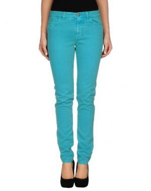 Джинсовые брюки JECKERSON. Цвет: зеленый