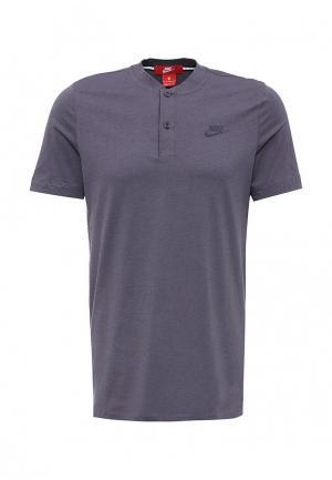 Футболка Nike. Цвет: фиолетовый