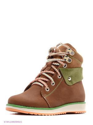 Ботинки San Marko. Цвет: рыжий