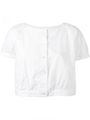 Блузка Lula Bellerose. Цвет: белый
