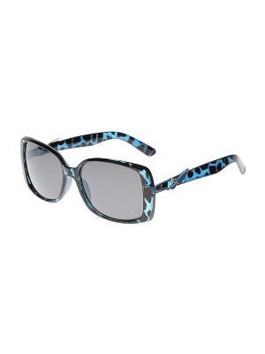 Солнцезащитные очки Gusachi. Цвет: черный, серый, синий