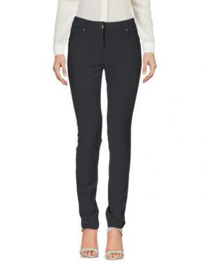 Повседневные брюки FLY GIRL. Цвет: свинцово-серый
