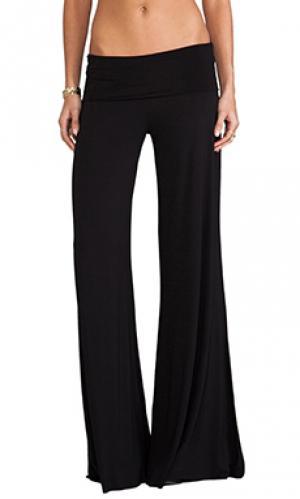 Широкие брюки carol Saint Grace. Цвет: черный