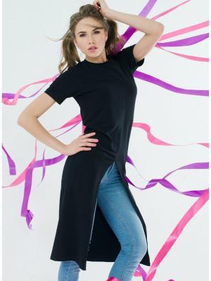 Платье футболка Eniland черного цвета