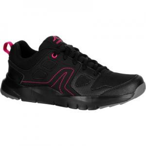 Женская Обувь Для Спортивной Ходьбы Hw100 - Чёрная/розовая NEWFEEL