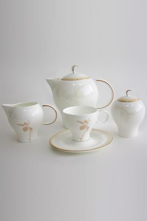 Сервиз чайный на 6 персон Tognana. Цвет: бежевый